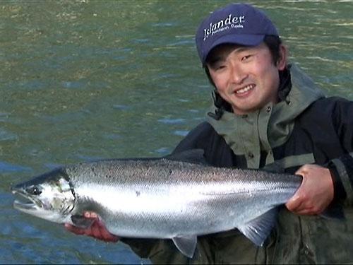 A video of flyfishing during last salmon season for Salmon fishing season washington