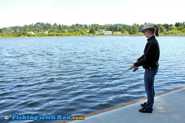 Diver lake nanaimo fishing with rod for Vancouver island fishing