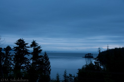 Early morning in Port Hardy