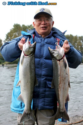 A pair of great catches from Chilliwack River