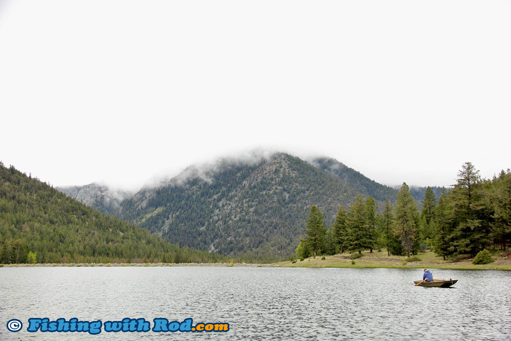 The breathtaking view of Onion Lake in BC