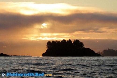 Sunrise in Ucluelet