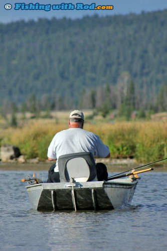 Fly Fishing at Tunkwa Lake BC