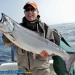 Trophy Chinook Salmon from Tofino BC