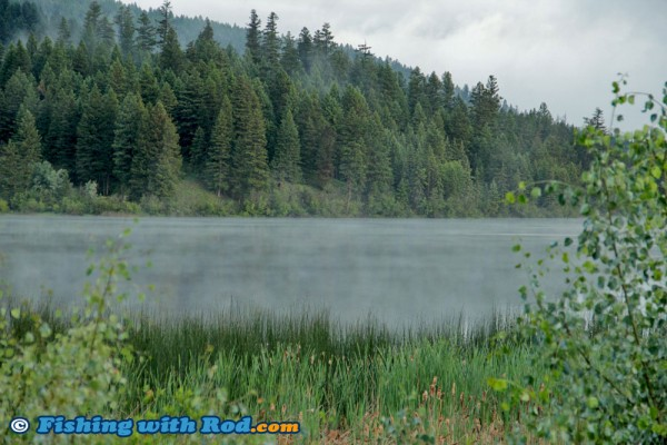 Morning Mist at Red Lake, Kamloops