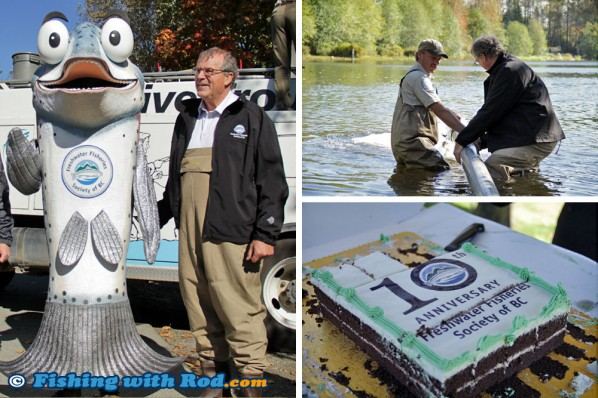 GoFishBC Releases 95th Millionth Fish!