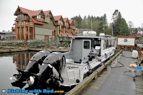 Big Bear Salmon Charters' 30ft Custom Weldcraft