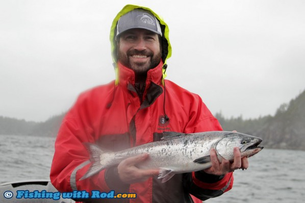 Iwan's chinook salmon from Ucluelet BC