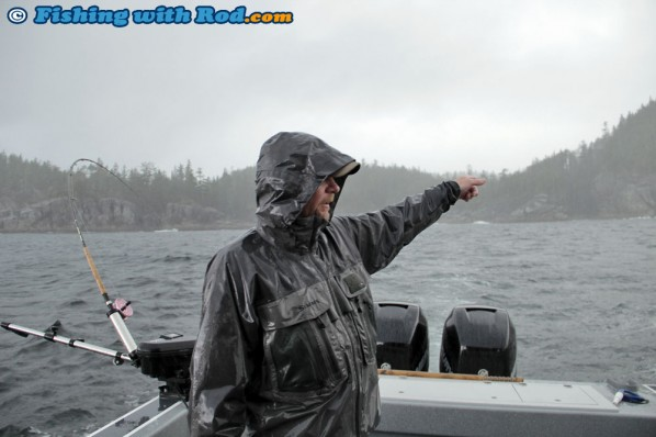Heavy Rain at Barkley Sound BC