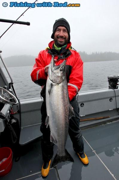 Iwan's Biggest Chinook Salmon
