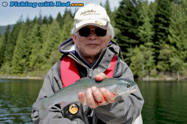 Newly Stocked Fraser Valley Rainbow Trout