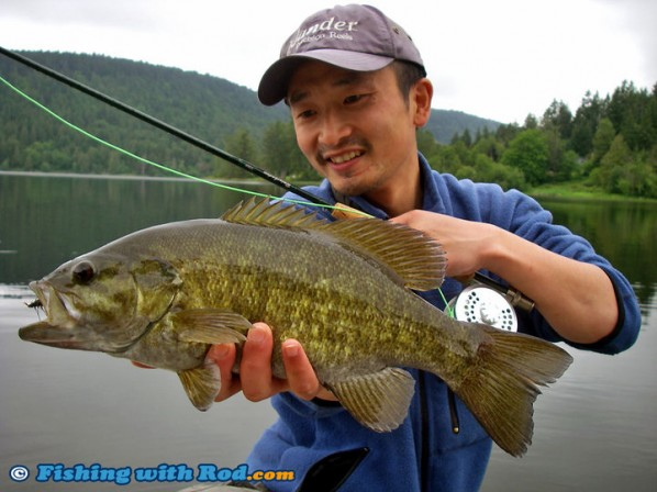 Smallmouth Bass at St Mary Lake in BC