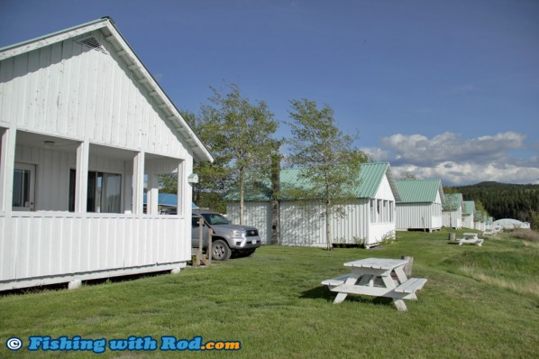 Cabins at Salmon Lake Resort