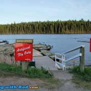 Boat Rental is available at Salmon Lake Resort