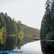 Durrance Lake on Vancouver Island