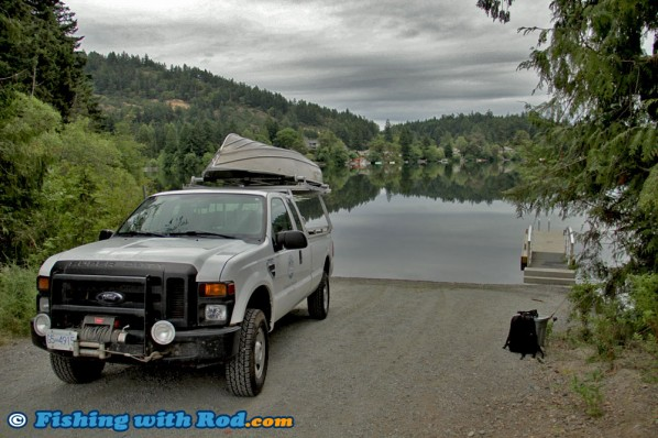 Boat Launch at Langford Lake on Vancouver Island
