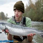 Alex's coho salmon