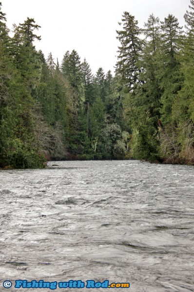 Sproat River on Vancouver Island