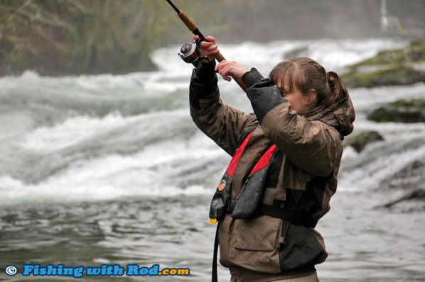 Swinging a Spoon for Steelhead