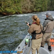 Hunting for Steelhead at a Tight Spot
