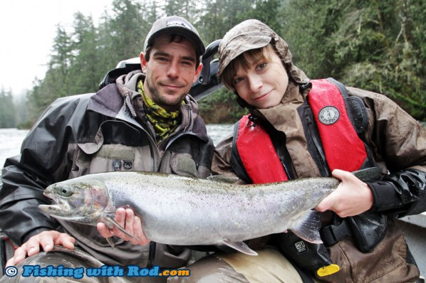 Winter Steelhead at Sproat River