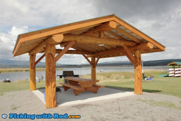 New Picnic Area at Tunkwa Lake Resort