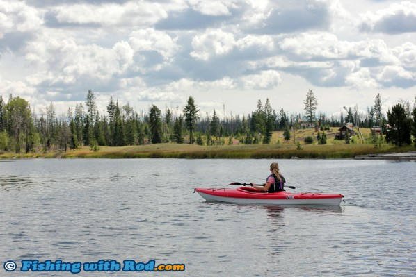 Kayaking at Tunkwa Lake