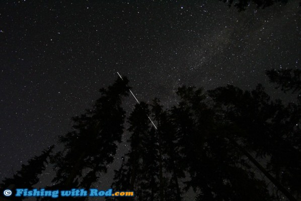The Night Sky at Tunkwa Lake