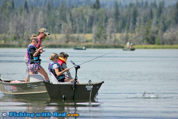 Catching Fish at Tunkwa Lake