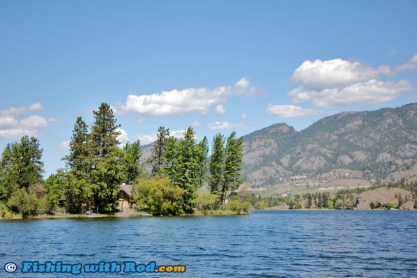 Skaha Lake near Okanagan Falls, BC