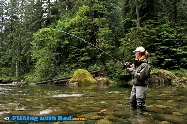 Capilano river north vancouver fishing with rod for River fishing pole