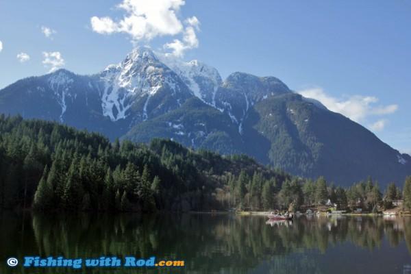 Beautiful calm Kawkawa Lake