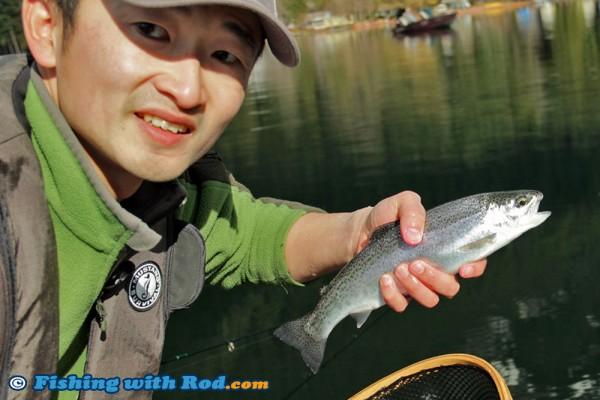 A Trout from Kawkawa Lake