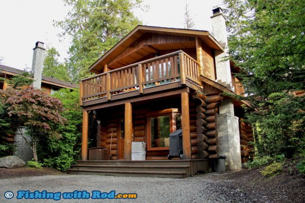 Tree House Cabin at Crystal Cove Beach Resort in Tofino