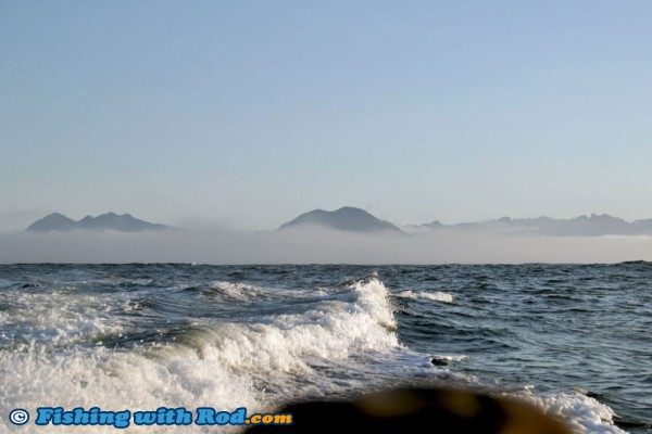 Heading Offshore from Tofino BC
