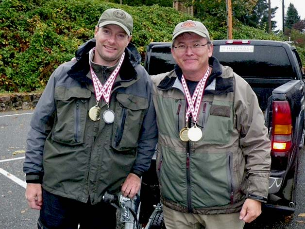 Mill lake fly fishing competition and series final results for Fly fishing competitions